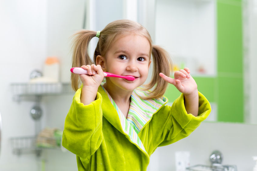 dental care brushing teeth